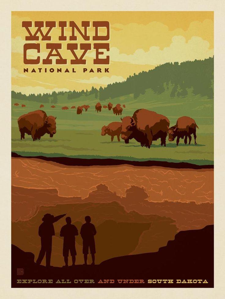Wind Cave National Park - South Dakota