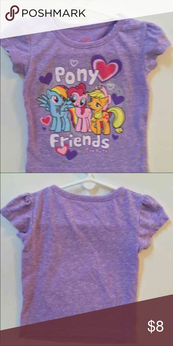 12 month My Little Pony Shirt 12 month old My Little Pony Shirt. In excellent condition as my little one was only able to wear it twice before she grew out of it. Very soft material Disney Shirts & Tops Tees - Short Sleeve