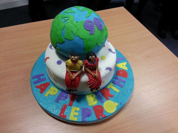 We celebrated our 90th birthday with a fantastic cake! http://www.lepra.org.uk/our-history