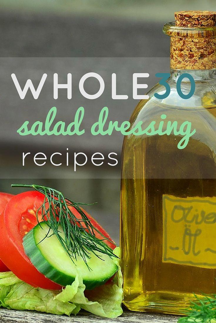 Whole30 Compliant Salad Dressing Recipes