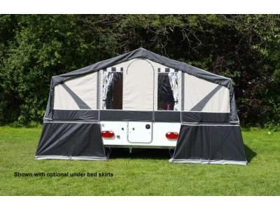 2014 PENNINE Fiesta Q2+2 £9995 New Folding Camper - Highbridge Folding Camper Dealers in Somerset, in the South West of England