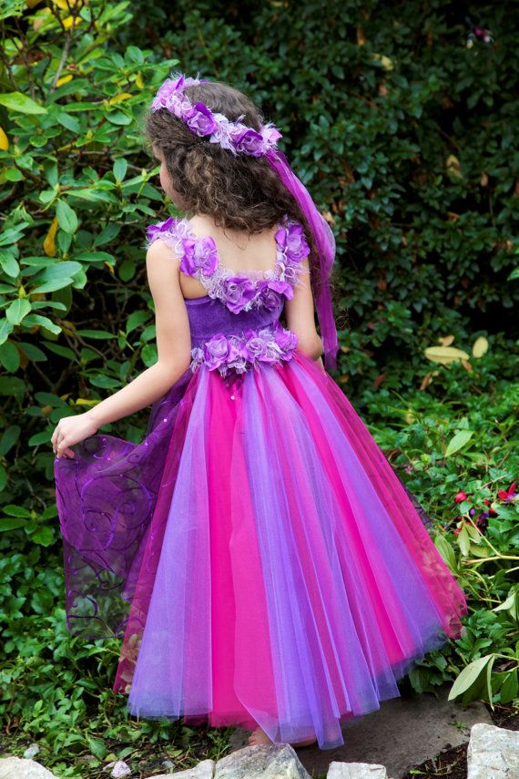 Convertible Wildflower Fairy Costume Bustle by EllaDynae on Etsy, $44.00