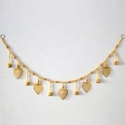 Golden Paan Shimmered Pearl Toran Indian Gift Portal http://www.amazon.in/dp/B00O8OL5LW/ref=cm_sw_r_pi_dp_UQi6ub0D8WQ66