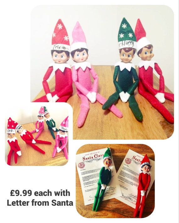 Elf toy doll christmas tradition childrens by GemzCreativeCreation