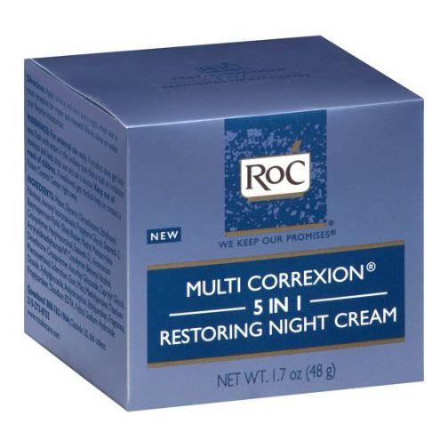 RoC Multi Correxion 5-in-1 Restoring Night Cream - GoodHousekeeping.com