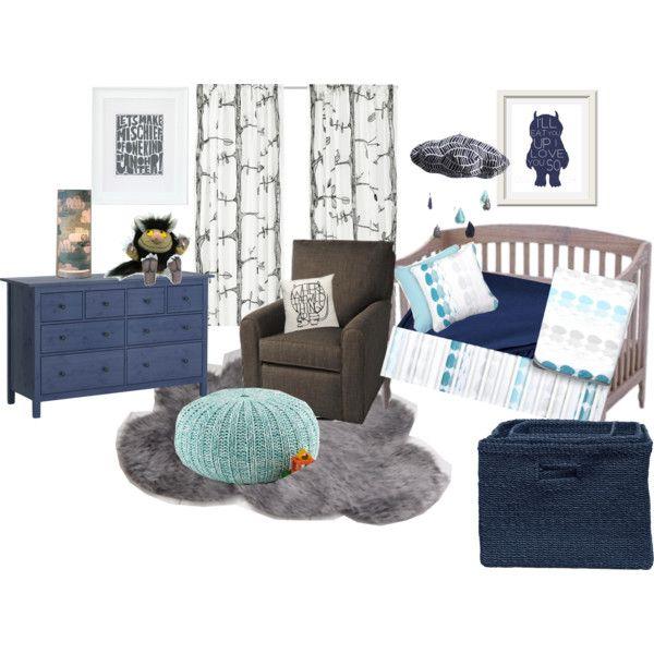 Blue & Grey Boy Nursery