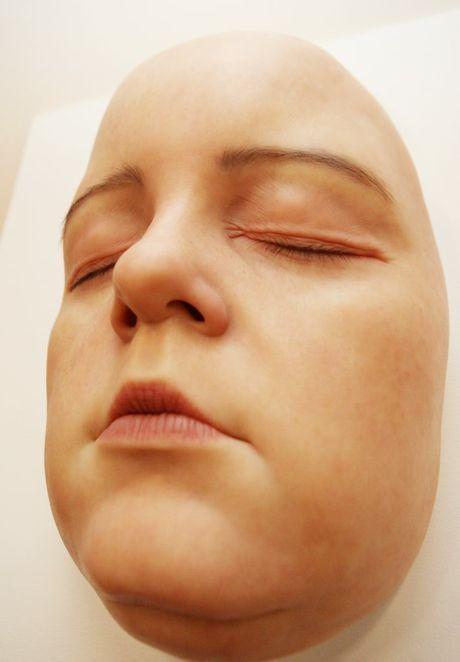 Une des sculptures de l'artiste Sam Jinks à Rockhampton Art Gallery. Photo Allan Reinikka / Le Bulletin du matin