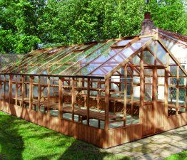 Swallow Falcon 13x12 Wooden Greenhouse