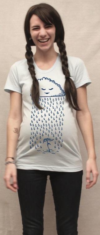 Camisetas premamá originales hechas a mano http://www.minimoda.es