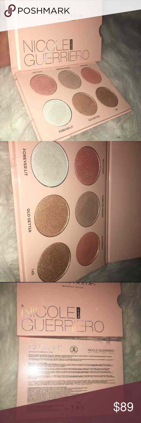 NICOLE GUERRIERO ANASTASIA GLOW KIT PALETTE Brand New! Just received! Sold out! Everyone is raving about this new glow kit by Anastasia BH. Bought from sephora! Asking for less on Mercarri! Anastasia Beverly Hills Makeup Luminizer