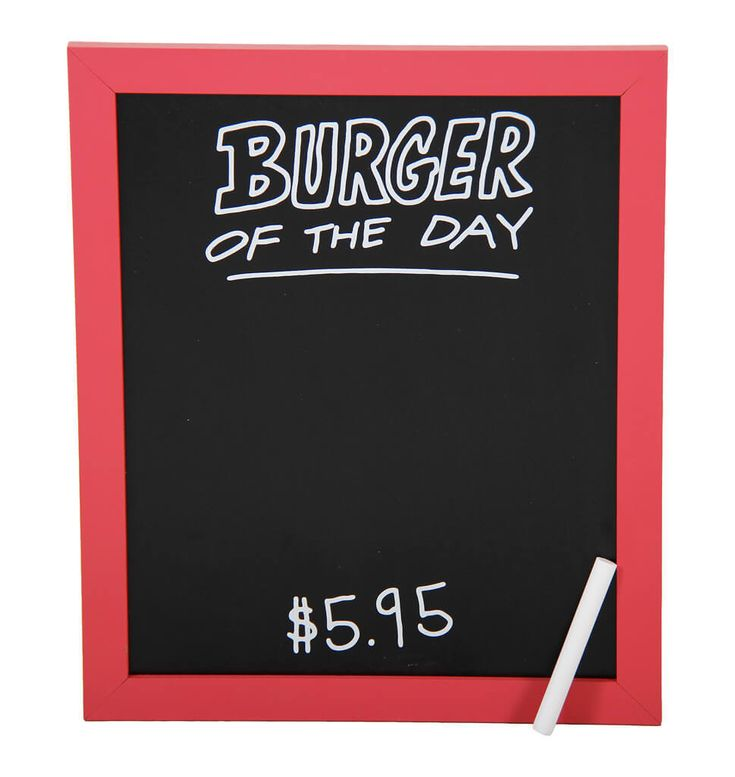 Put you and your family on the set of Bob's Burgers when you hang up this officially-licensed Fox's Bob's Burgers Burger of the Day Wall Art in your kitchen. Write down the burger of the day just as Bob does on Bob's Burgers! It's a fun way to express your creative mindset while at the same time inspire you or your friends to great creative in the kitchen as well.