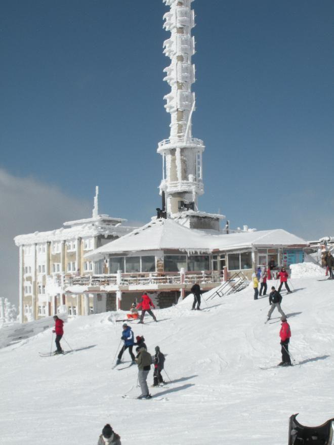 Mount Uludag in Bursa, Turkey
