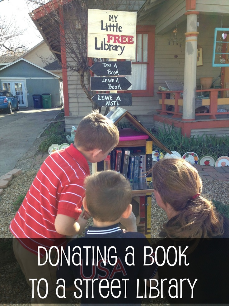 Pennies of Time.  Donating books to the Street Library for International Book Giving Day