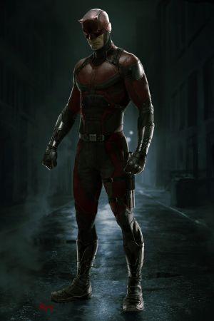 Daredevil Costume by Ryan Meinerding [ Daredevil ](via Ryan Meinerding Details the Design of Daredevil's Costume | News | Marvel.com)