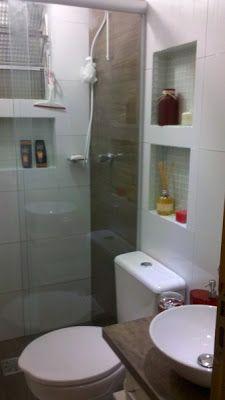Boa noite!   Hoje vou postar foto lindíssimas de banheiros que me inspiram... Quero tentar fazer, ao menos parecido.. heheh   * Vou começar ...
