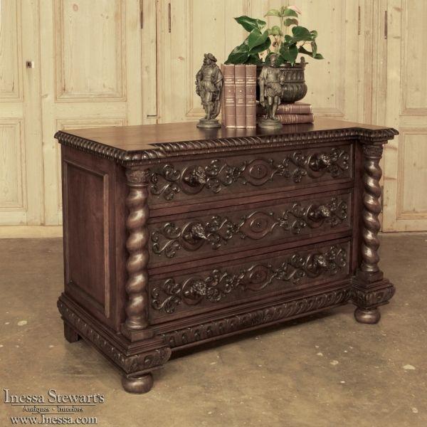 Antique Furniture   Antique Commodes   Renaissance Gothic Commodes    Italian Renaissance Commode   www. 682 best ANTIQUE FURNITURE images on Pinterest   Antique furniture