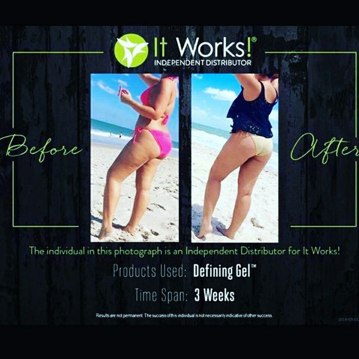 Defining Gel Reduces the appearance of cellulite!!! 864-350-4928 Www.lisafisherwrap.itworks.com