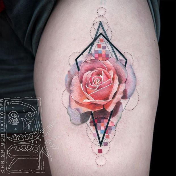 Chris Rigoni - tattoos neotradicionais
