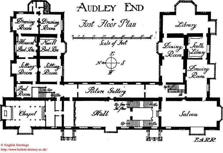 audley end  first floor