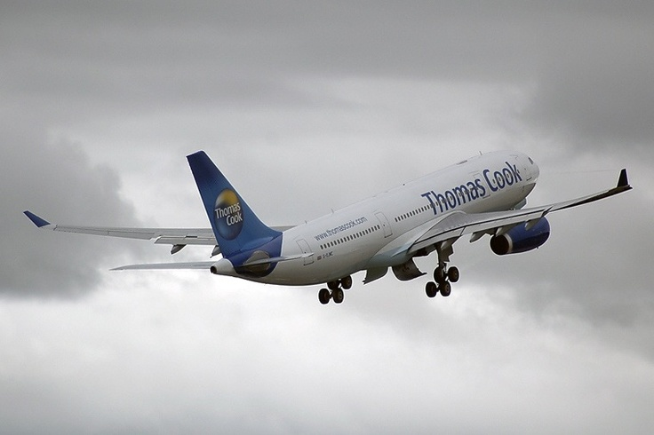 Thomas Cook A330, Manchester UK.