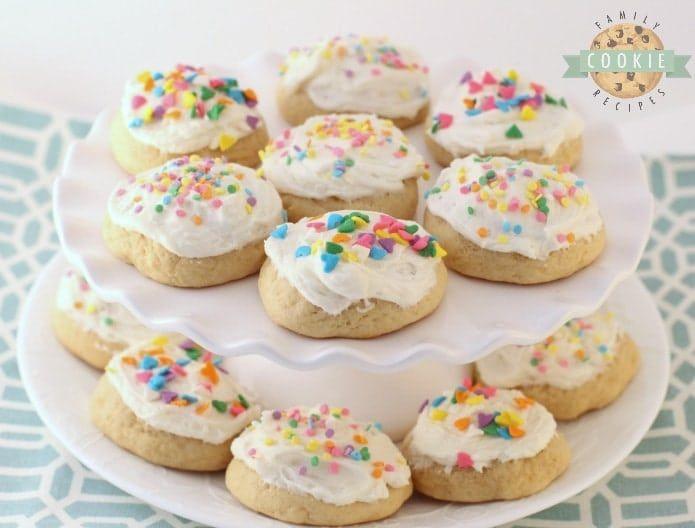 Buttermilk Sugar Cookies Family Cookie Recipes Recipe Buttermilk Recipes Ice Cream Sandwiches Recipe Cookie Recipes