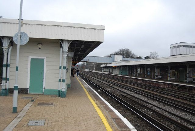 Redhill Railway Station (RDH) in Redhill, Surrey
