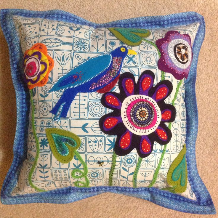I made this cushion for my lovely niece Lara for Xmas 2013. She was so happy to get it.