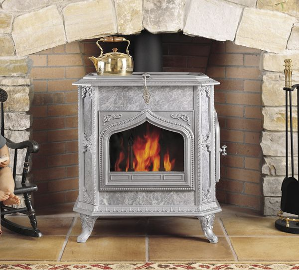 Fireview Wood Stove Gray Small Soapstone Wood Stove