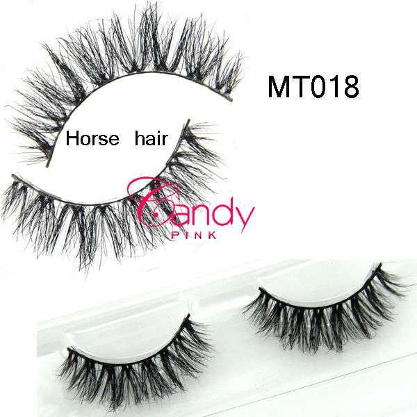 MT018Horse Hair Eye Lashes, Real Horse Hair Thick Eyelash Extensions, Eyelashes Natural Horse Hair Eyelashes Cosmetics False Eyelash Online with $1.91/Pair on Ladyybeautyco's Store | DHgate.com