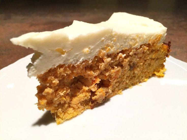 Mrkvový dort bez mouky a cukru