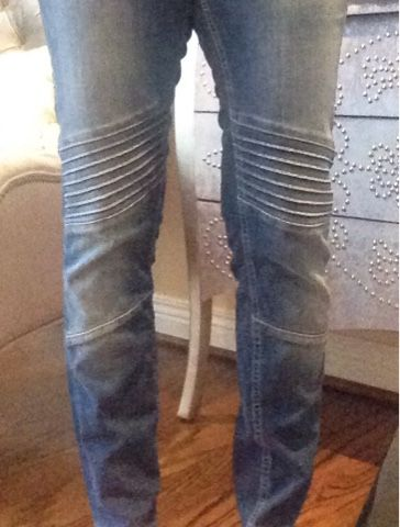 Mavi Stitch Fix Kiersten Skinny Moto Jeans. Not my usual style but I'd like to try something different!