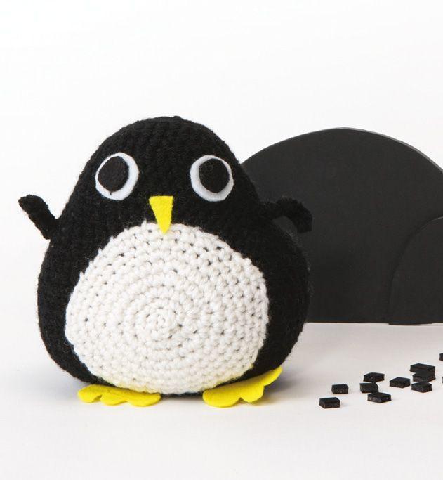 1000 id es sur le th me pingouin en crochet sur pinterest - Modele gratuit pingouin ...