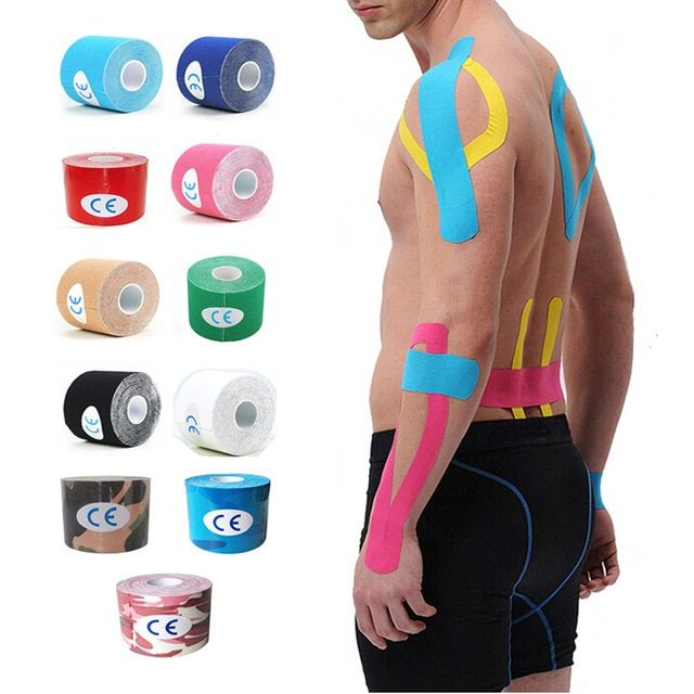 Health /& Beauty Muscle Tape kinesiology muscle tape Athletics Sports /& Outdoors