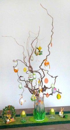 L'Arbre de Pâques est une ancienne tradition allemande « Osterbaum » pour célébrer l'arrivée du printemps que l'on retrouve aujourd'hui un peu partout en Europe.