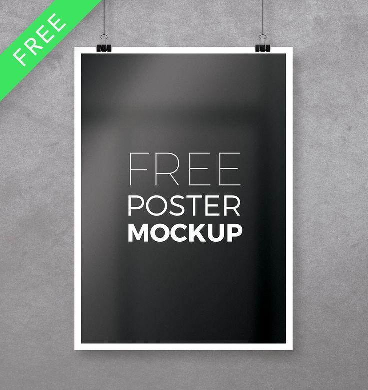 Free Multipurpose Photoshop Poster Mockup Poster Mockup Free Poster Mockup Poster Mockup Psd