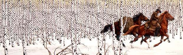 Artifacts Gallery - Sacred Ground by Bev Doolittle