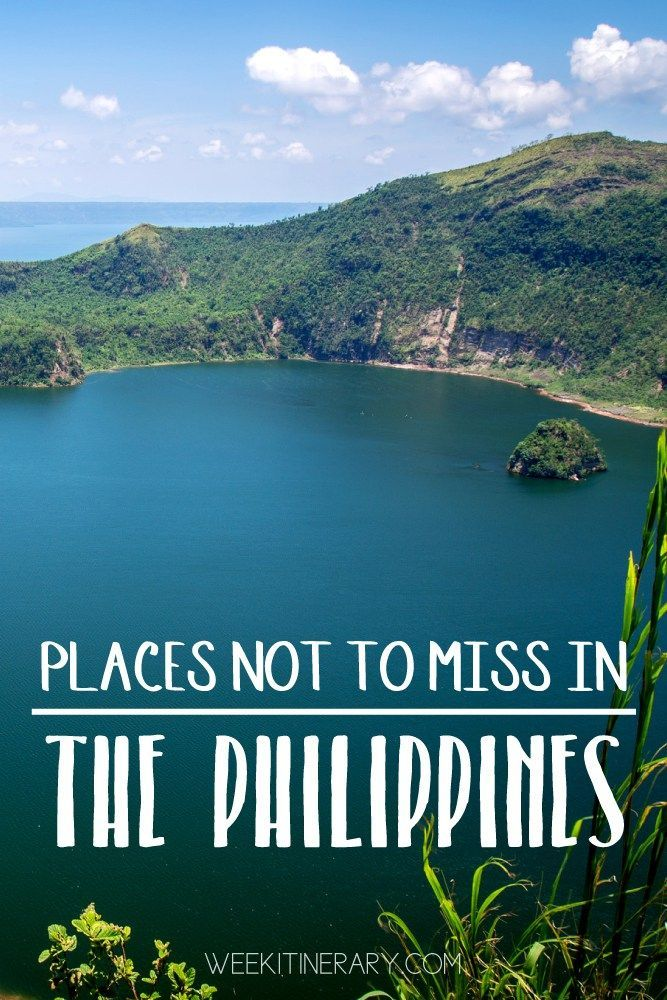 The Philippines Places not to miss