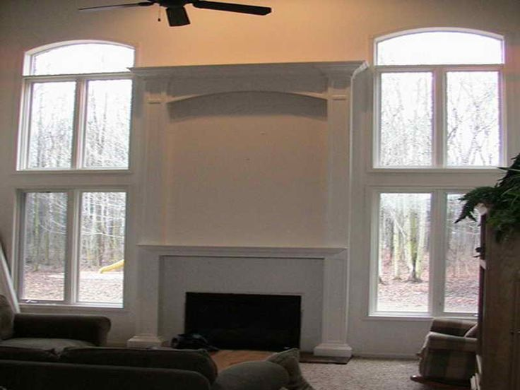 Simple Double Mantle Fireplace Http Lovelybuilding Com