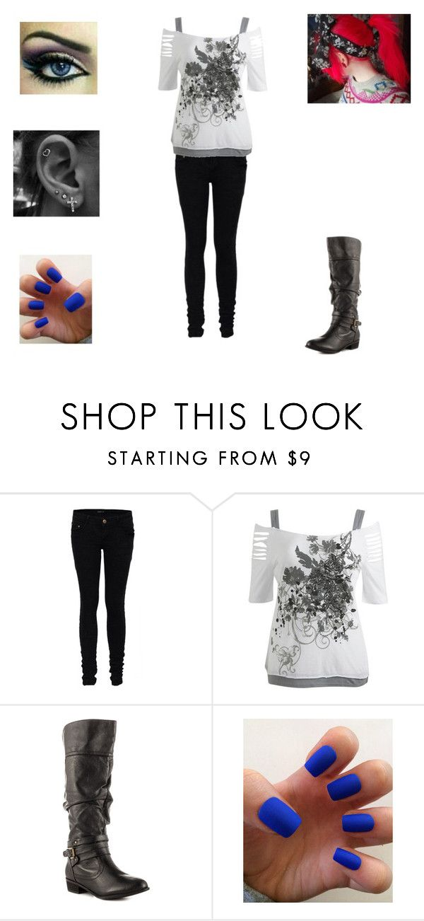 """""""Ariel's Outfit"""" by his-babygirl26 ❤ liked on Polyvore featuring Wet Seal and Steve Madden"""