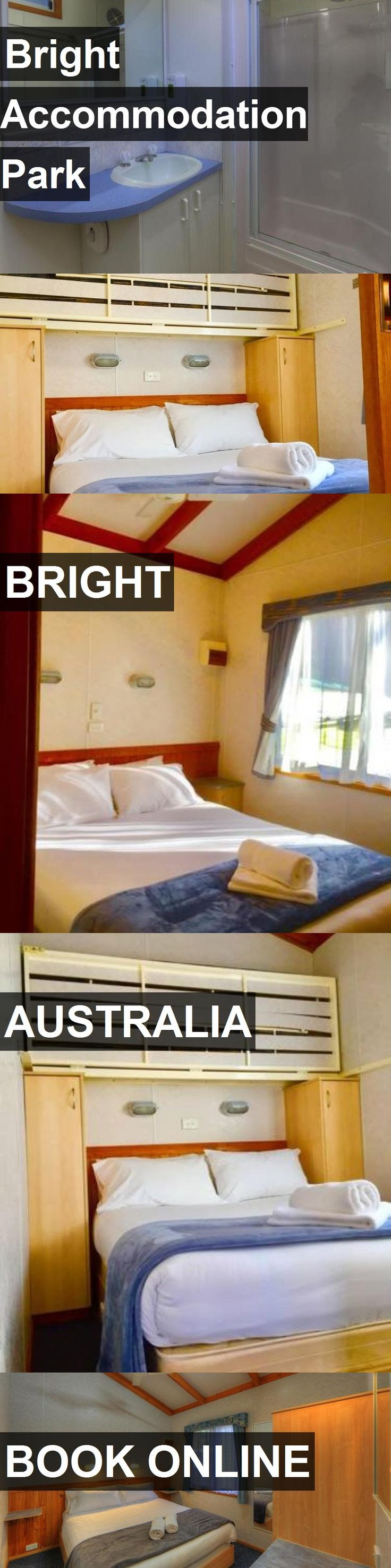 Hotel Bright Accommodation Park in Bright, Australia. For more information, photos, reviews and best prices please follow the link. #Australia #Bright #travel #vacation #hotel