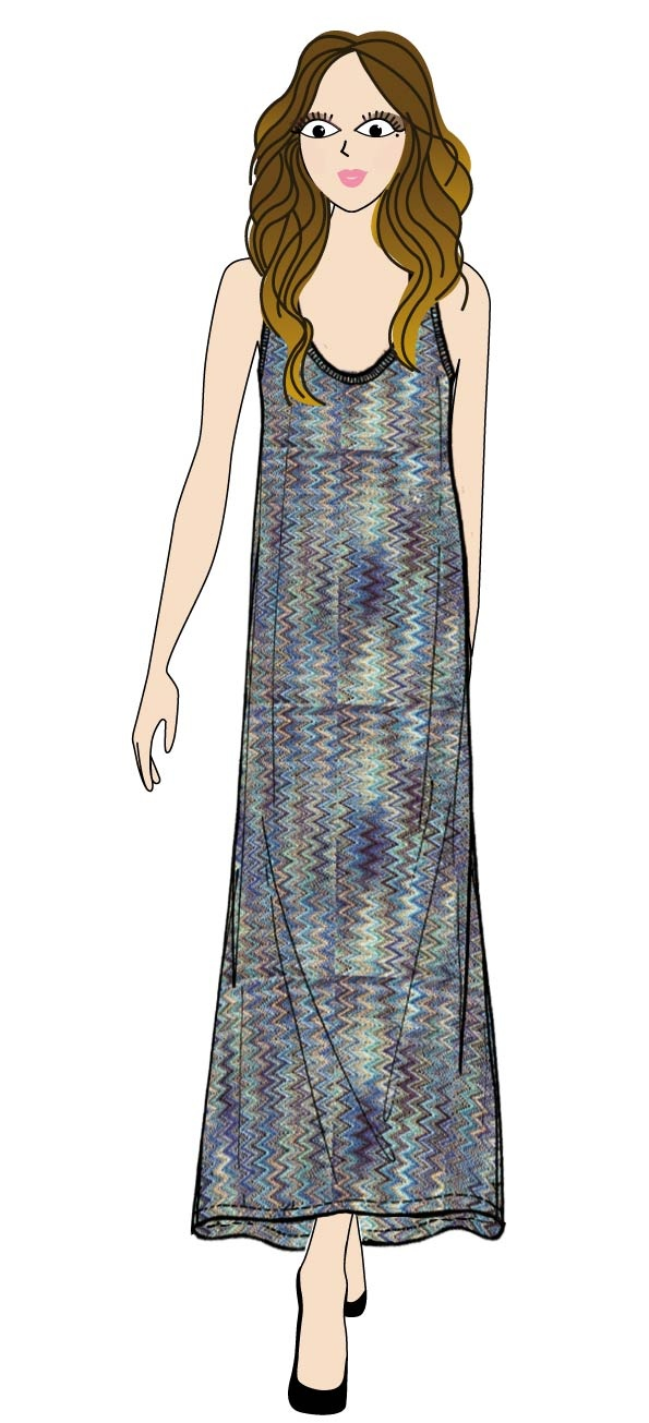 #maisonespin #longdress #musthave #springsummercollection13 #womancollection#lovely #MadewithLove #romanticstyle #milano #ginni