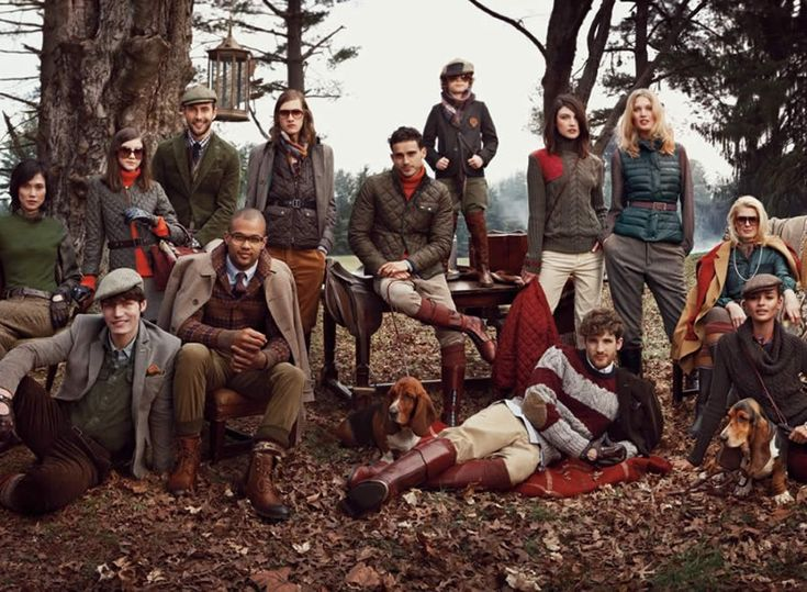 Tommy Hilfiger a/w 2012 campaign