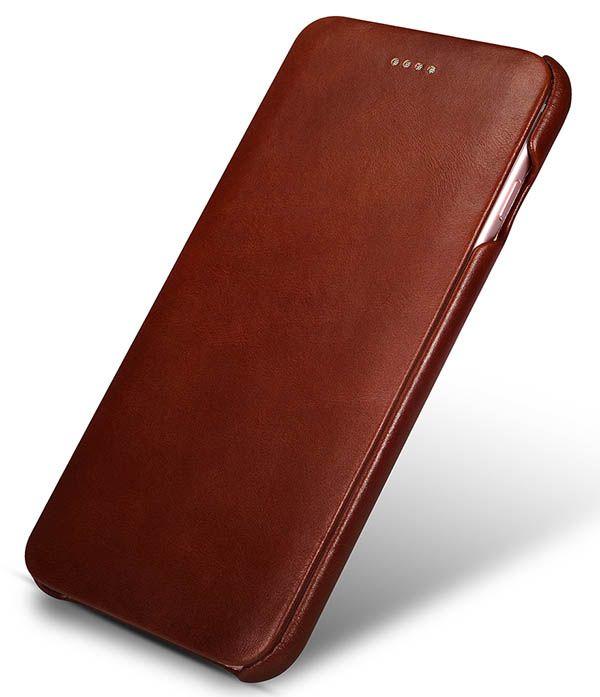 iCarer iPhone 6 Plus/6S Plus Curved Edge Vintage Series Genuine Leather Case