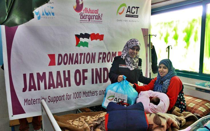 Paket Pasca Bersalin, dari Indonesia untuk Gaza