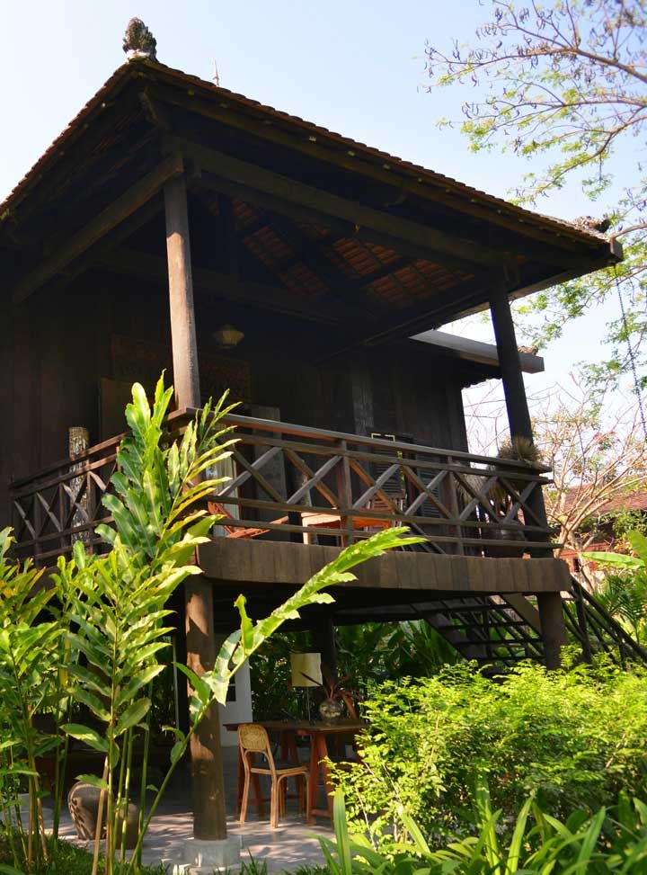47 best destination cambodia images on pinterest cambodia siem maison polankas main villa was converted from a traditional khmer wooden family house indistay malvernweather Choice Image