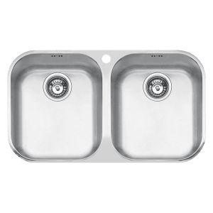 BF200U - Barazza B_Fast Double Bowl Sink - Kitchen #abeyaustralia #barazza #kitchensink