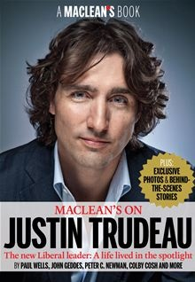 Maclean's on Justin Trudeau - The New Liberal Leader: A Life Lived in the Spotlight. New Liberal party Leader Justin Trudeau has never known a life that wasnt a public one. His birth on Dec. 25, 1971, to Prime Minister Pierre Trudeau and his wife, Margaret, was front-page news. He grew up with a nation discussing the breakup of his parents marriage, watching him and his brothers at play and on the campaign trail. Read more on #Kobo.
