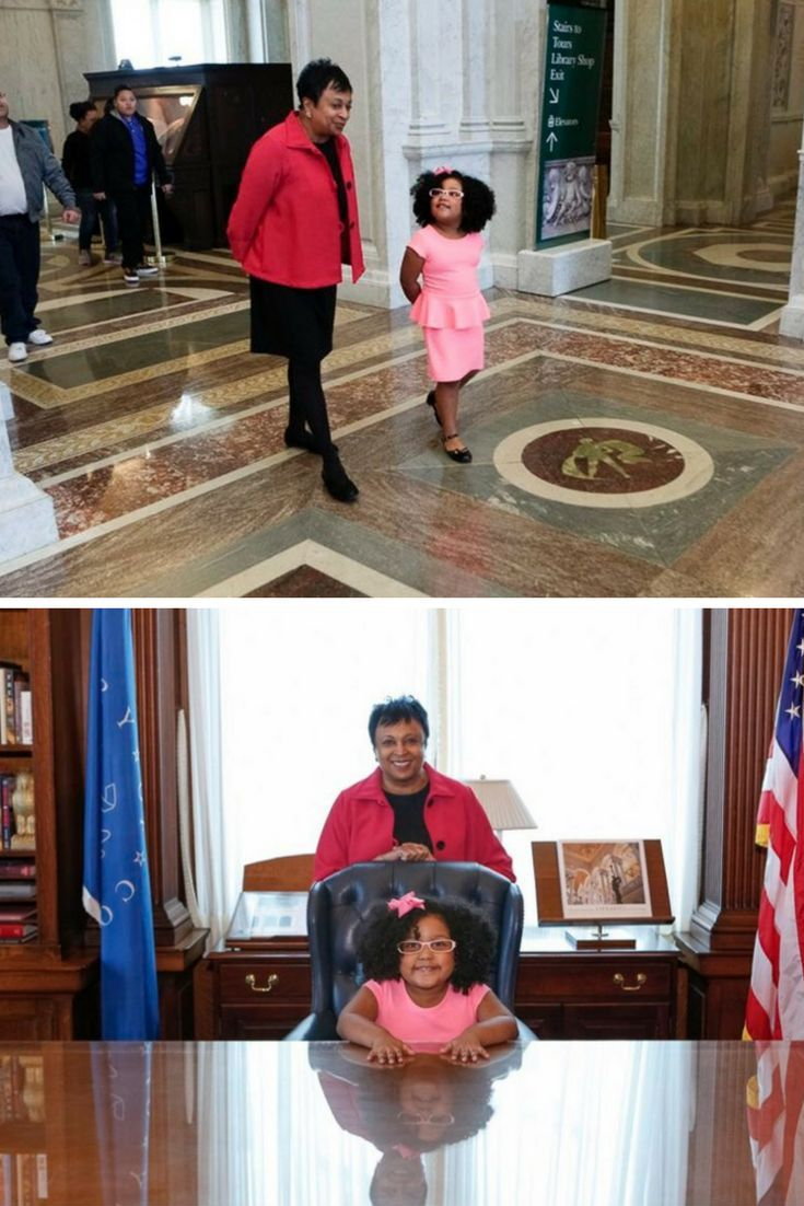 Georgia Girl Who Has Read 1K Books At Age 4 Visits Library of Congress, Becomes Honorary Librarian. Daliyah has her own library card and wants to be a librarian when she grows up.