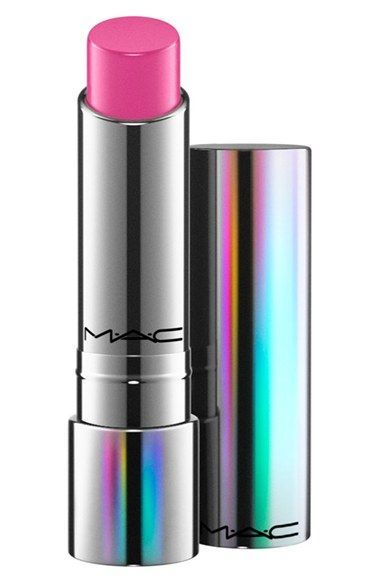 Free shipping and returns on MAC 'Tendertalk' Lip Balm at Nordstrom.com. This smart lip conditioner by M·A·C creates your own personalized tint based on your body chemistry. It combines nourishing skin care with technology to keep your lips soft and moisturized, while offering just the right amount of color. The balm comes packaged in an iridescent metal lipstick case and is scented with a hint of uplifting vanilla.