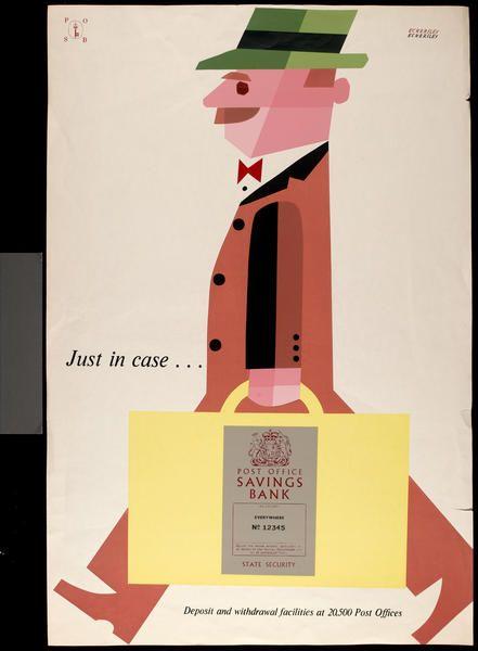 Tom Eckersley, Post Office Savings Bank (1955)
